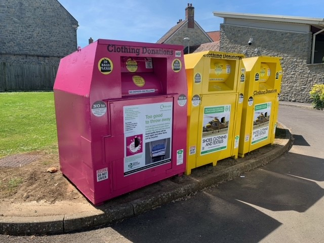 Nisa charity Making a Difference Locally launches clothing banks