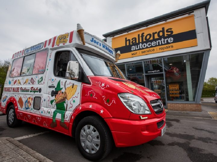 Halford's team up with the Ice Cream Alliance