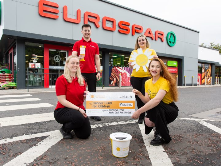 EUROSPAR North Down and East Belfast raise £8,500 for children's charity