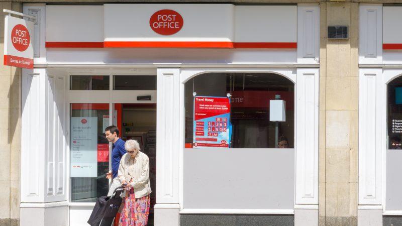 Post Office card accounts for pensions coming to an end