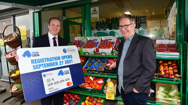 Lyons says applications for Spend Local pre-paid card opens 27th September