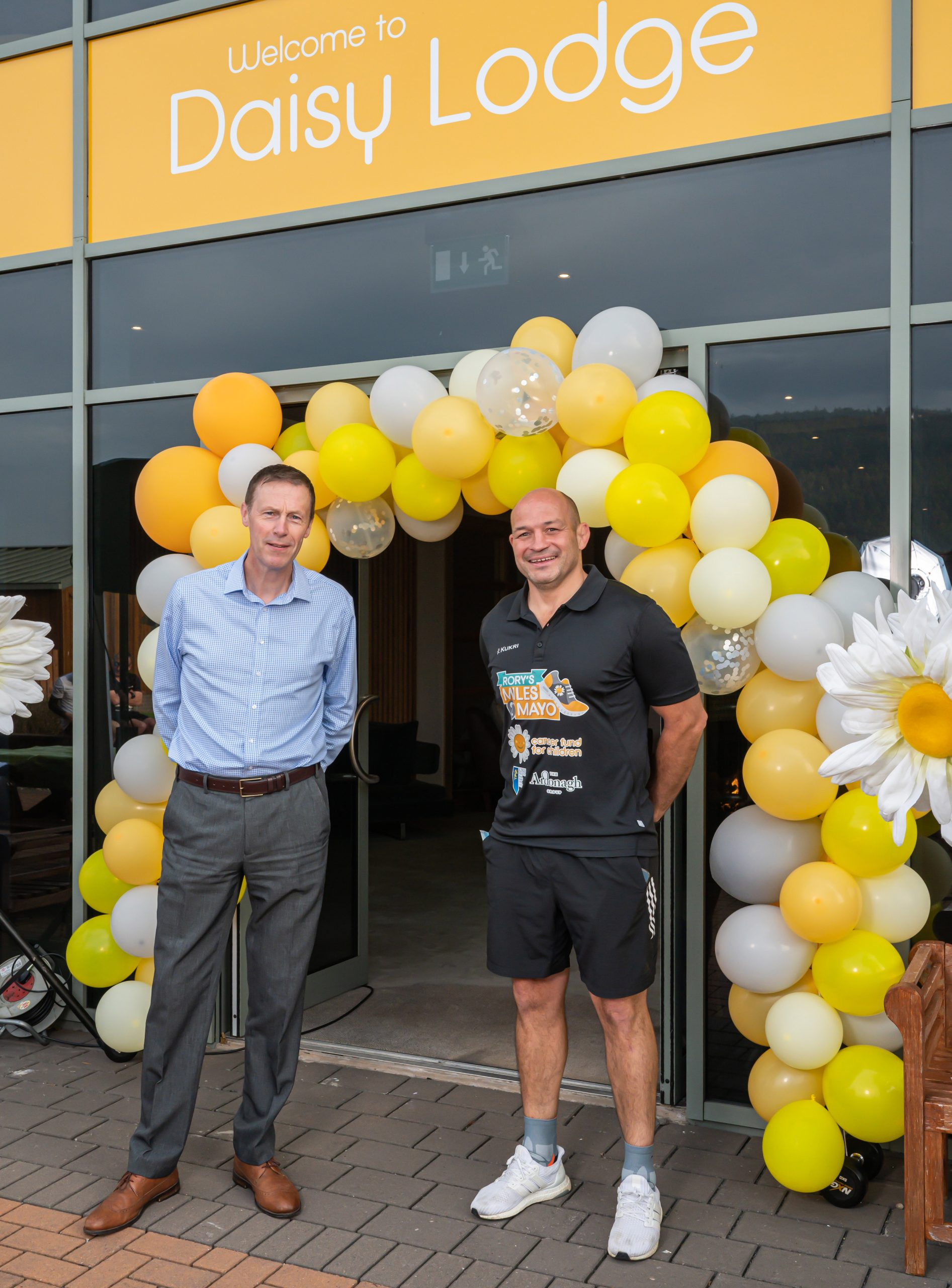 EUROSPAR and Rory put Best foot forward to support Miles 2 Mayo challenge
