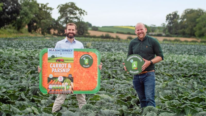 Mash Direct help consumers make sustainable choiceswith Eco Labelling