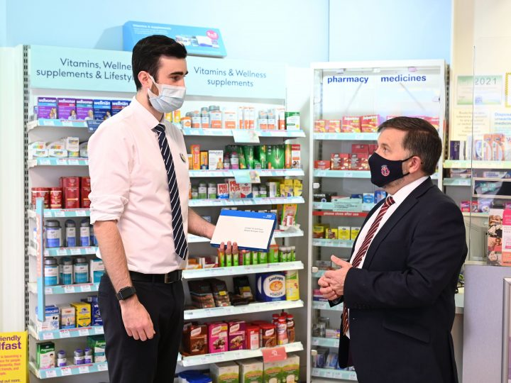 420 Community Pharmacies sign up for rapid COVID-19 Tests Collect Service