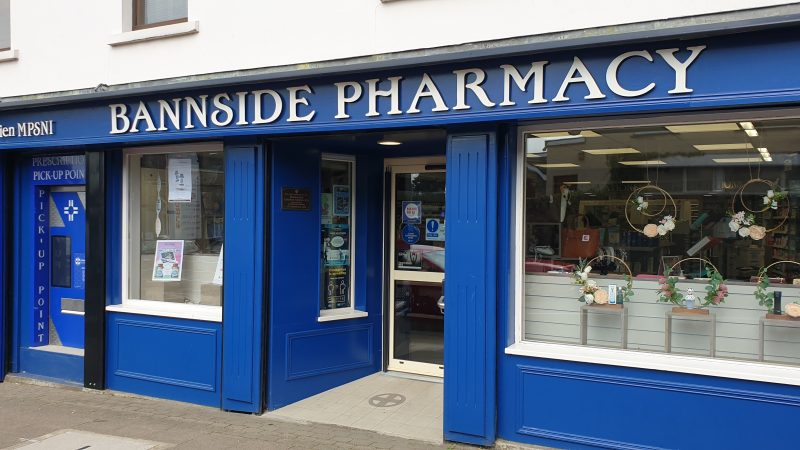 Bannside Pharmacy – The beating heart of the local community