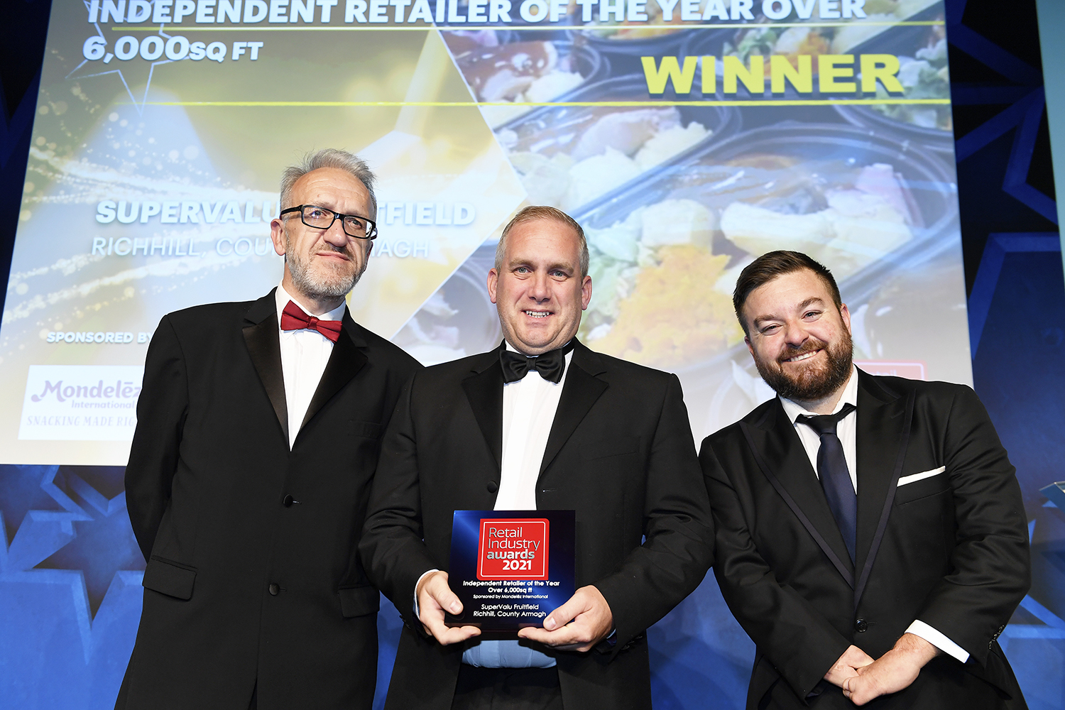 Awards for SuperValu Fruitfield and Lilley's Centra
