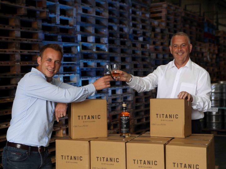 United Wines toast Titanic whiskey distribution deal